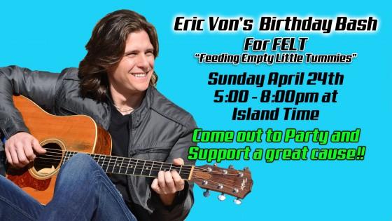 Eric Von Birthday Banner for Felt Event Facebook